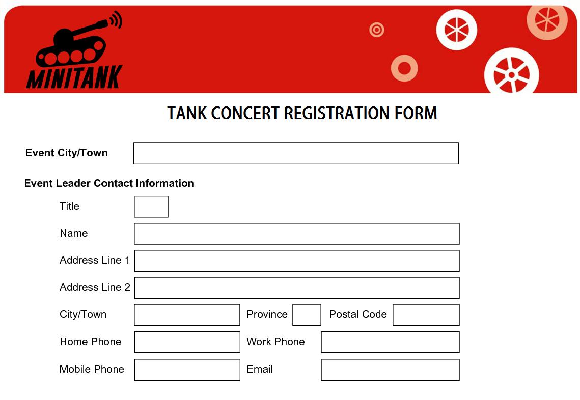 Advanced ticket registration Photo